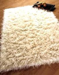 white rug rugs wool pile in natural available 8 sizes cleaning flokati ikea home design ideas