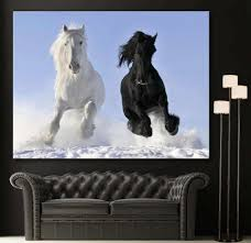 black and white horse wall art lovely wall art galloping horses canvas giclee print black white
