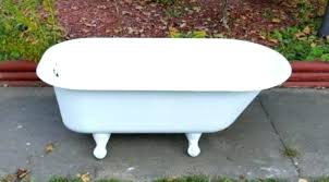 can i paint a bathtub bathtubs can i paint cast iron bathtub removing paint from cast