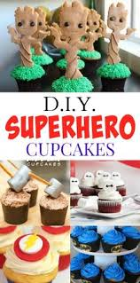 20 Best Marvel Cupcakes Images Marvel Cupcakes Cup Cakes Cupcake
