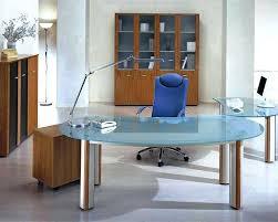 modern glass desk image of glass desk with drawers contemporary glass desks uk