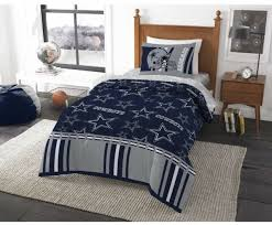 Twin Size Dallas Cowboys Bed Comforter Set NFL Bedding Microfiber ...