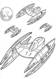 Star Wars Spaceships Coloring Pages Movie Coloring Pages