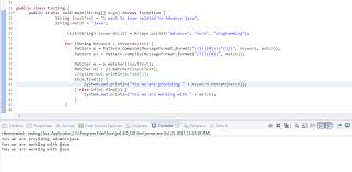 Java Pattern Compile Amazing Regex How To Get Exact Match Keyword From The Given String Using