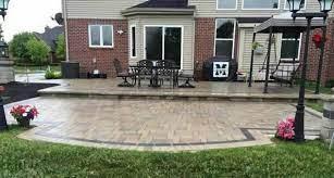 brick paver patio in oakland county
