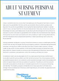 Nursing Personal Statement Examples Cover Letter Best Nursing Personal Statement Examples Career Goal