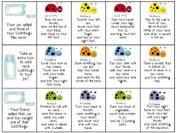 Sublime Speech: Listening Ladybugs: Following Directions Activity ...