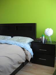 black furniture what color walls. Bedroom With Black Furniture And Lime Green Walls : Decorate A Room Wall What Color O