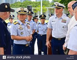 Officer In Charge Commodore Joel Garcia Philippine Coast