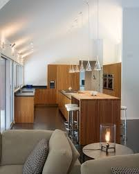 spot lighting for kitchens. Modern Kitchen Vaulted Ceiling Lighting Mini Pendants Over Island Spot For Kitchens