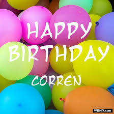 Erin condren brings fun and functionality together with personalized and custom products including the lifeplanner™, notebooks, stationery, notecards and home décor. 50 Best Birthday Images For Corren Instant Download Wishiy Com