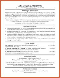 Radiologic Technologist Resume Examples Cool Radiology Technician Resume Templates Inventory Samples Supervisor