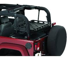 highrock 4x4 cargo rack bracket kit for 03 18 wrangler 2 door