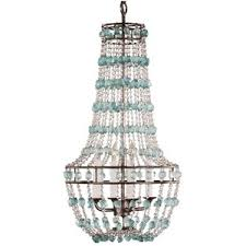 sea glass chandelier. Sea Glass Chandelier Vintage On Decorating Home Ideas With