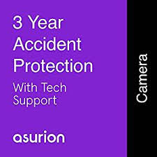 Asurion 3 Year Camera Accident Protection Plan With Tech Support 600 699 99