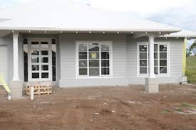 Building Our House Of Grey And White Paint Pics - House exterior colours