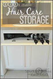 storage for hair dryer u curling iron holder for and hair dryer hair with hair dryer hanger diy