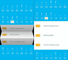 calender tools peek calendar for iphone tools and toys