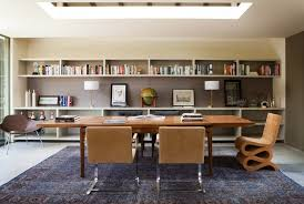 office rug. Overdyed Rug In A Modern Home Office O