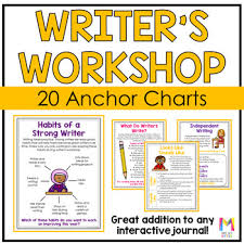 Writer S Workshop Anchor Charts Writing Workshop Anchor Charts
