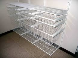Wire Closet Shelving Parts House Pinterest Closet organization