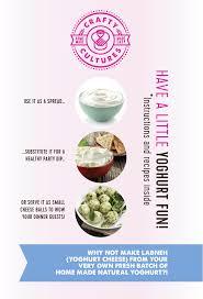 12 natural yoghurt starter kit
