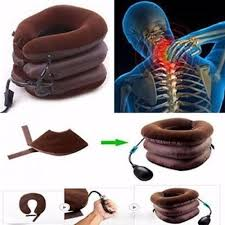 3 Layers <b>Air Inflatable</b> Pillow <b>Cervical Neck</b> Traction, Packing Type ...