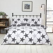 all star grey duvet cover set reverse