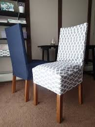 image of diy dining chair covers fabric my morning slip cover chair project using remnant