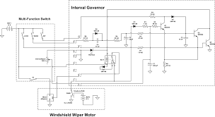 1994 ford ranger interval governor for windshield wiper motor eb 5 schematic of 1994 ford ranger wiper washer circuit from alldatapro com