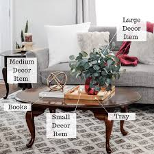 easy coffee table styling like a