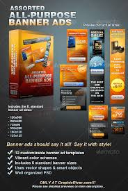 Daily News Assorted All Purpose Banner Ad Templates Vol 1