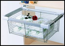 Great Clever Closet 6 Runner Basket Kit White Bunnings Warehouse In Wire  Basket Drawers Remodel ...