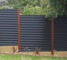 corrugated metal fence. Simple Fence Modern Privacy Fence Ideas For Your Outdoor Space Inside Corrugated Metal 0