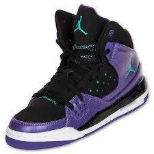 jordan shoes for girls black and purple. girls grade school jordan flight sc 1 basketball shoes   finishline.com black/purple/teal yes please! option#1 new pinterest purple teal for black and o