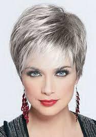 Coupe Cheveux Courts Gris Coiffure Pinterest Cheveux