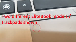 Orange Light On Touchpad Fix Hp Elitebook Laptop Touchpad Trackpad Not Working All Of A Sudden 2 Types Of Mousepads Shown
