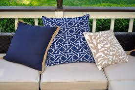 c outdoor pillow collection