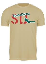 Футболка классическая <b>Scuba Diving</b> #2126702 от balden по цене ...