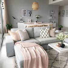 innovative pink grey living room ideas