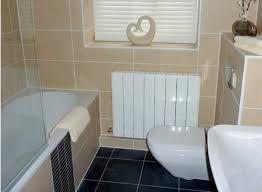 large tiles in small bathrooms