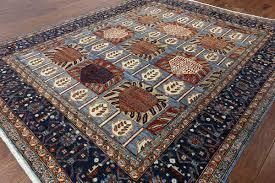 art deco area rugs nouveau handmade oriental 9 x rug 13 glamorous