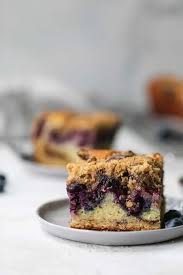 This will prevent the blueberries from sinking to the bottom of the pan while baking. Blueberry Coffee Cake Seasonal Blueberry Cake Recipe