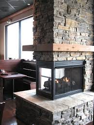 appealing room design with 2 sided fireplace and 3 sided fireplace ideas fantastic living room