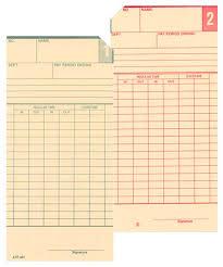 Bi Weekly Time Card Atr420 Bi Weekly Time Card Two Sided Atr431 Acroprint Time