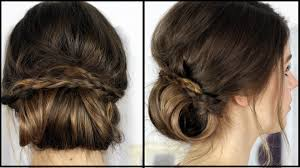 Chignon Frisuren Freitag Lovethecosmetics Youtube