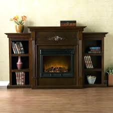 southern enterprises fireplaces electric fireplace with bookcases shelves southern enterprises griffin ivory heater fireplaces southern enterprises