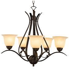 rubbed bronze chandelier. Modren Bronze Portfolio Back To Basics 5Light Oil Rubbed Bronze Chandelier Inside P