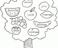 Small Picture Catchy Fruit Of The Spirit Coloring Pages Fruit Of The Spirit