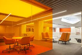 office orange. Office Orange. Beautiful Orange An Chair In Marigold And Persian Grey To R